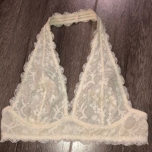 FREE PEOPLE INTIMATELY unlined lace bralette
